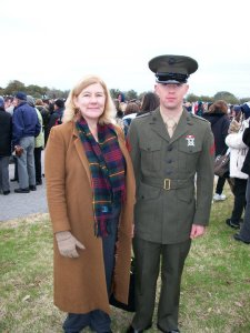 My Marine on Graduation Day PI