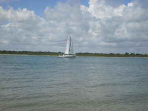 Sailboat Far